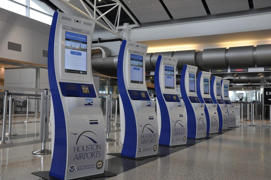 ヒューストン国際空港入国審査
